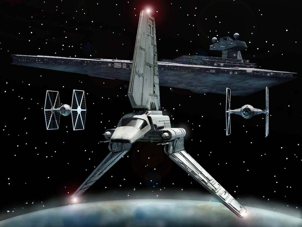 Star Wars Youtoub Imperial Shuttle 56