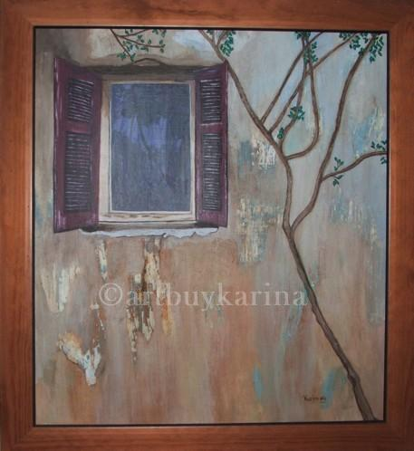 """""""The window"""" - Private Collection"""