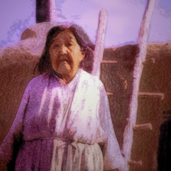 'Taos Reminiscing'