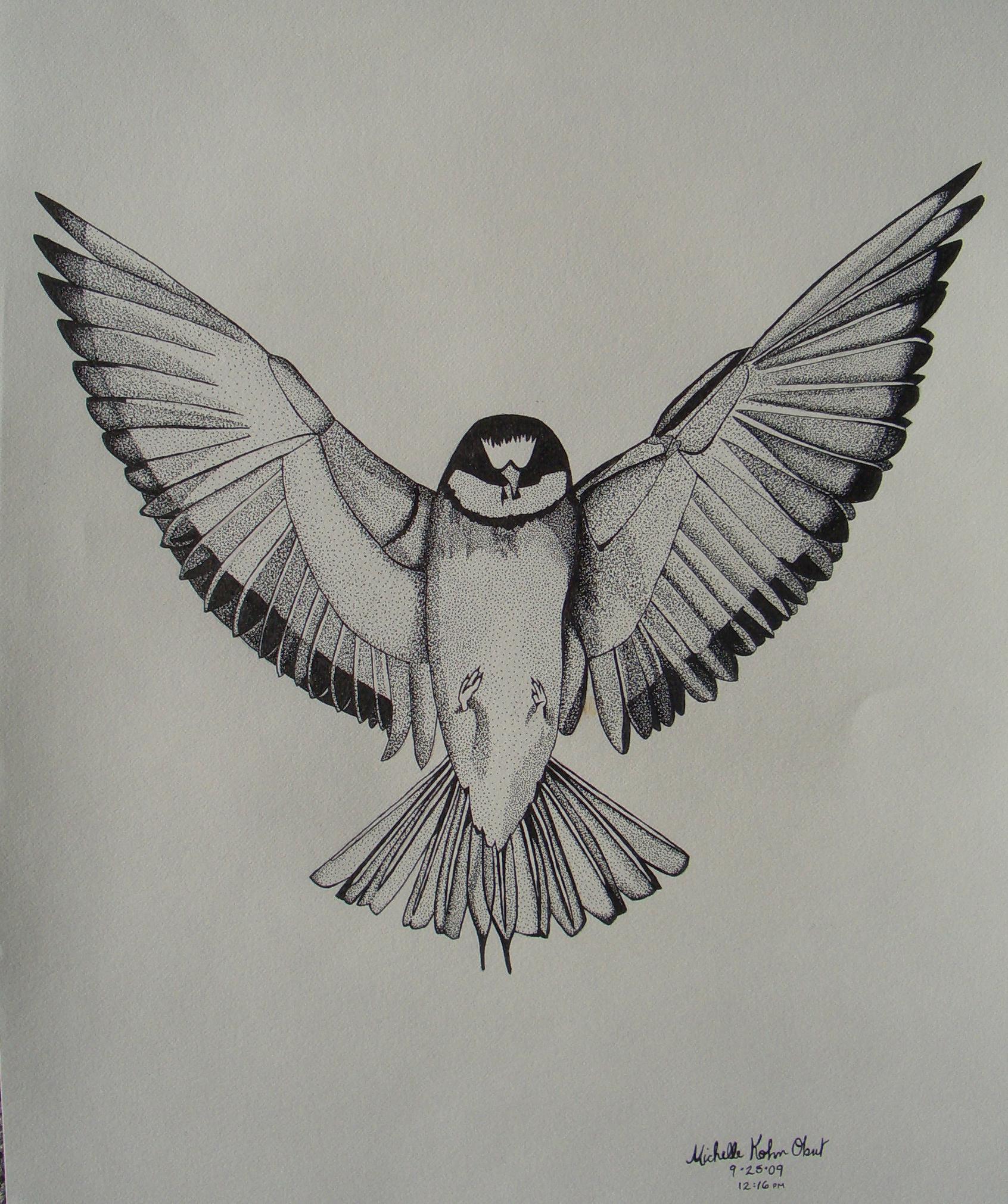 Bird in Flight | MichelleKO | Foundmyself