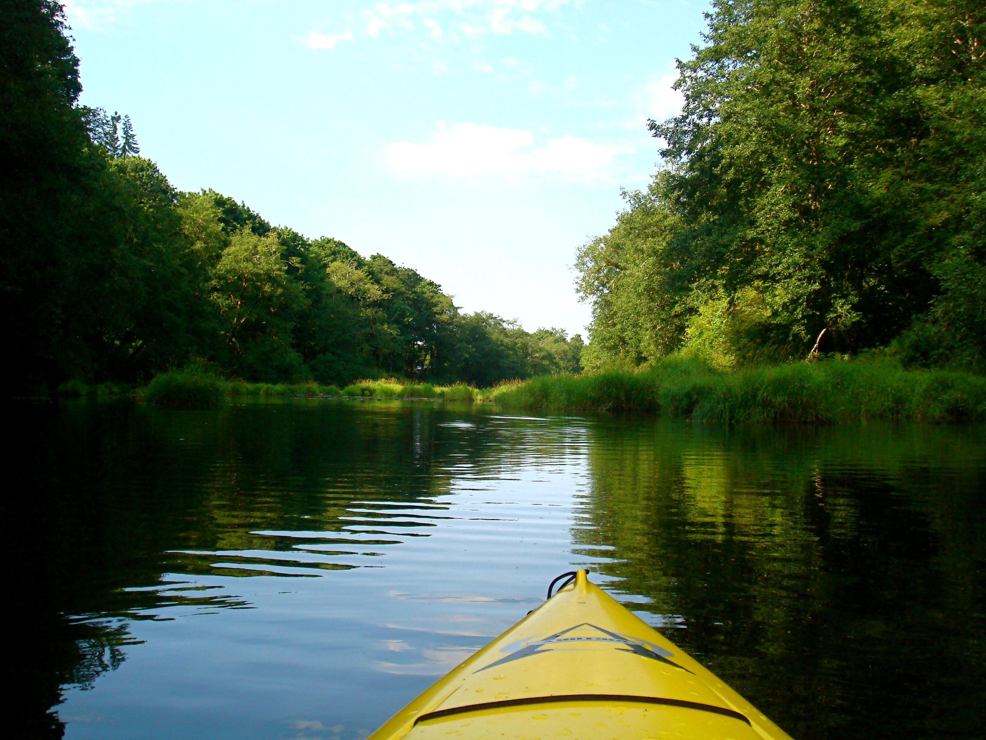 Kayak On River Tierra Valentine Foundmyself