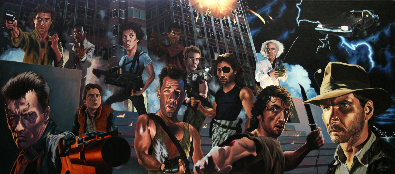80 s action heroes justin reed foundmyself