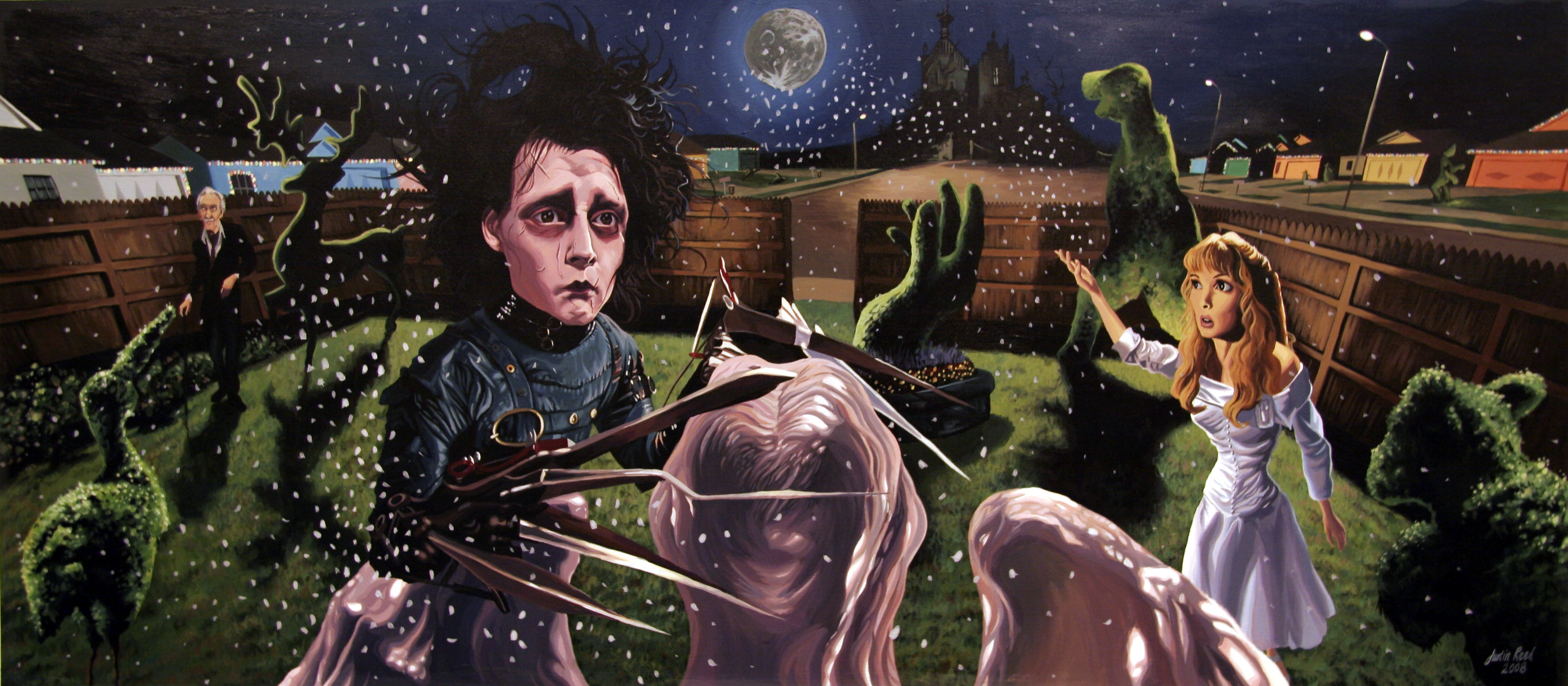 edward scissorhands tim burton techniques does burton use Free sample films essay on tim burton cinematic techniques in edward scissorhands tim burton is able to use cinematic techniques an important part of his.