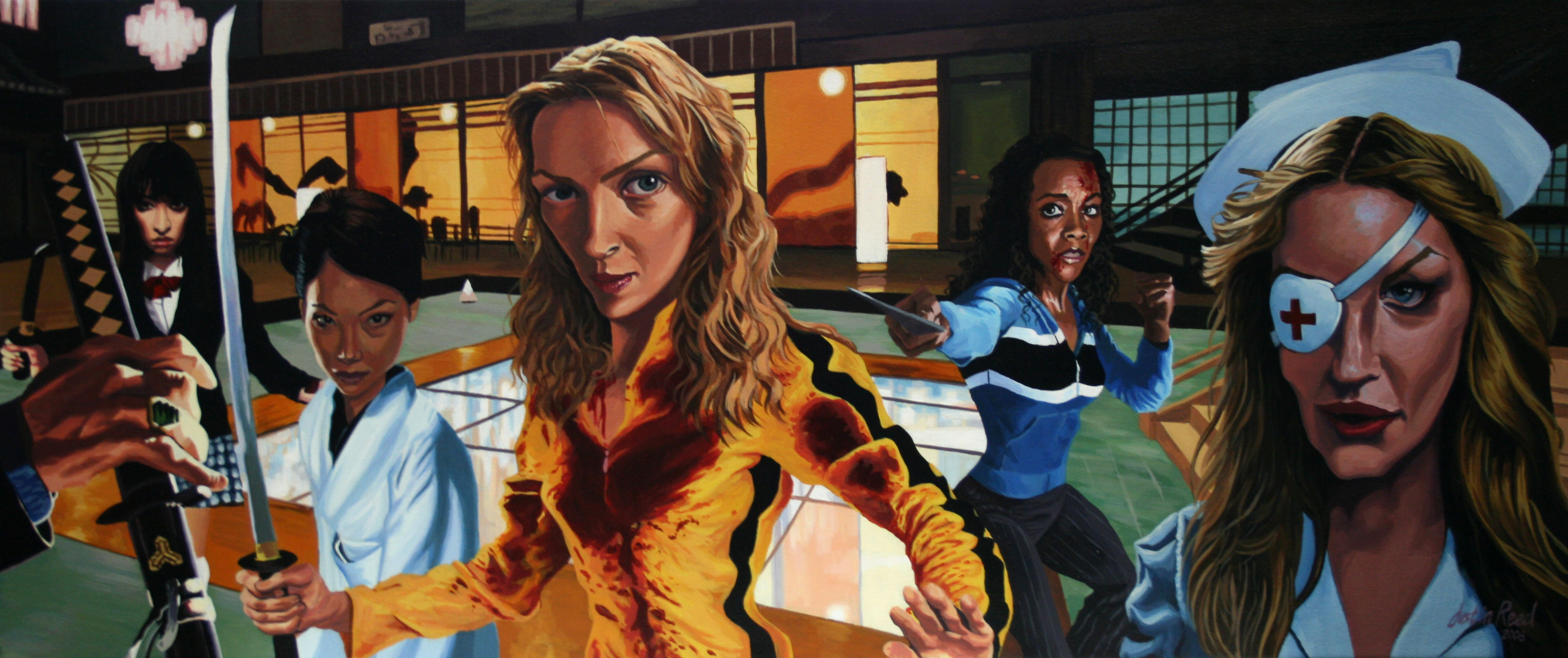 Kill bill justin reed foundmyself for El mural pelicula