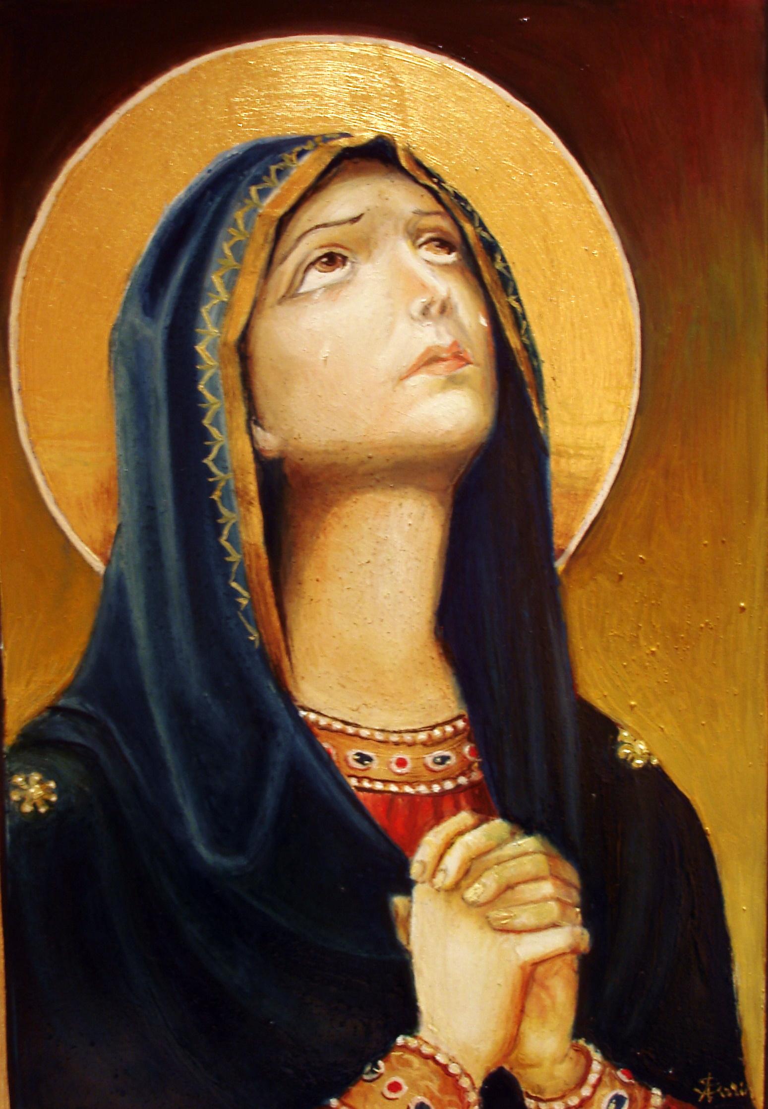 Saint Mary - Orthodox Icon   sorinapostolescu   Foundmyself