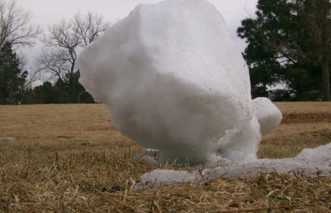 The Balancing Ice
