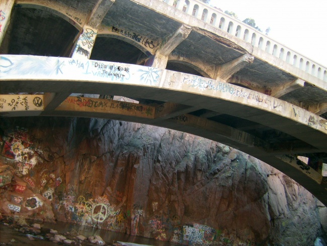The Writing on the Bridge