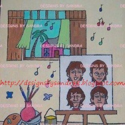 Beatles Cartoon Something Called Art