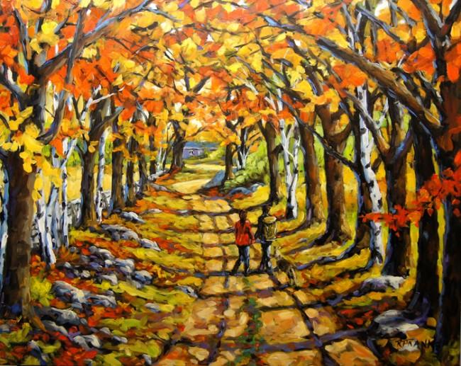 Country Lane Romance by Prankearts