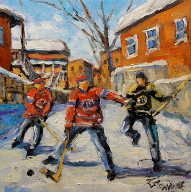 Puck Control Hockey Kids created by Prankearts
