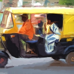 Tuk-tuk travel