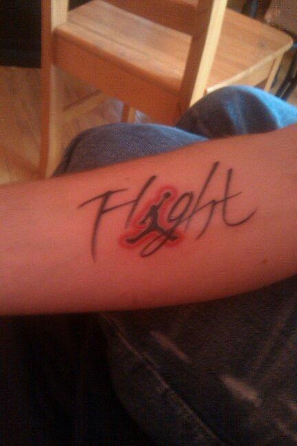 Jordan Flight Tattoo