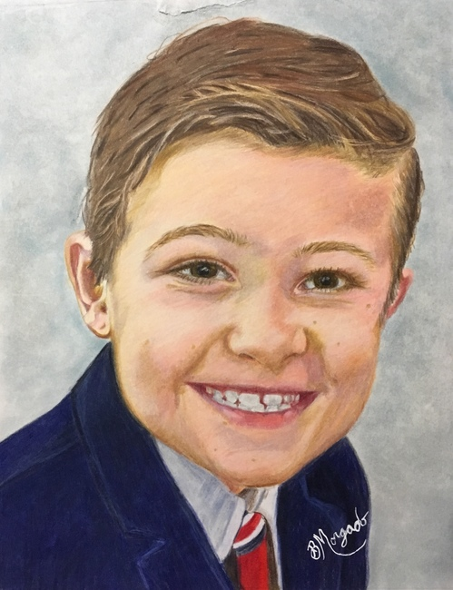 Portrait Of Max ( age 9)