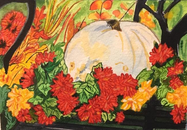 White Pumpkin Celebration
