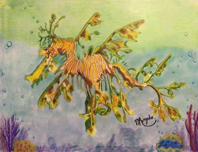 Leafy Seaweed Dragon
