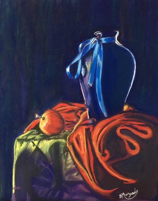 Blue Vase ( Still Life )
