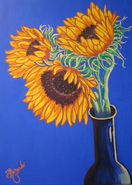 Majestic Sunflowers