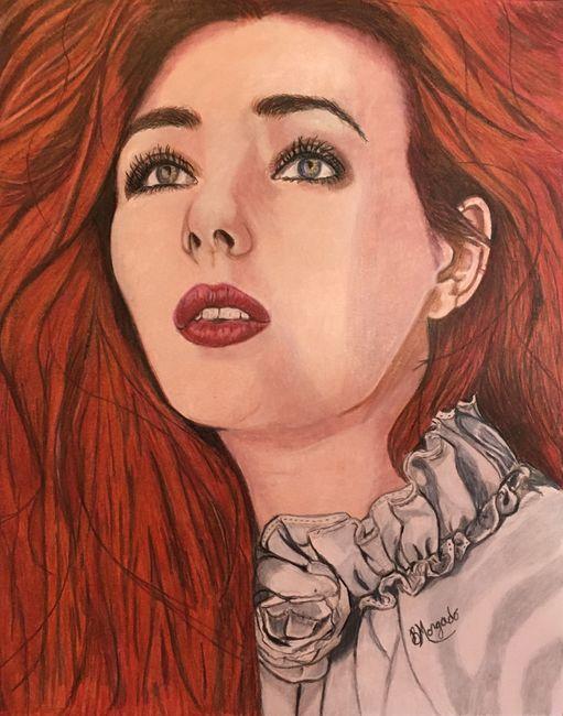 Ashleigh ( colored pencil portrait journey )