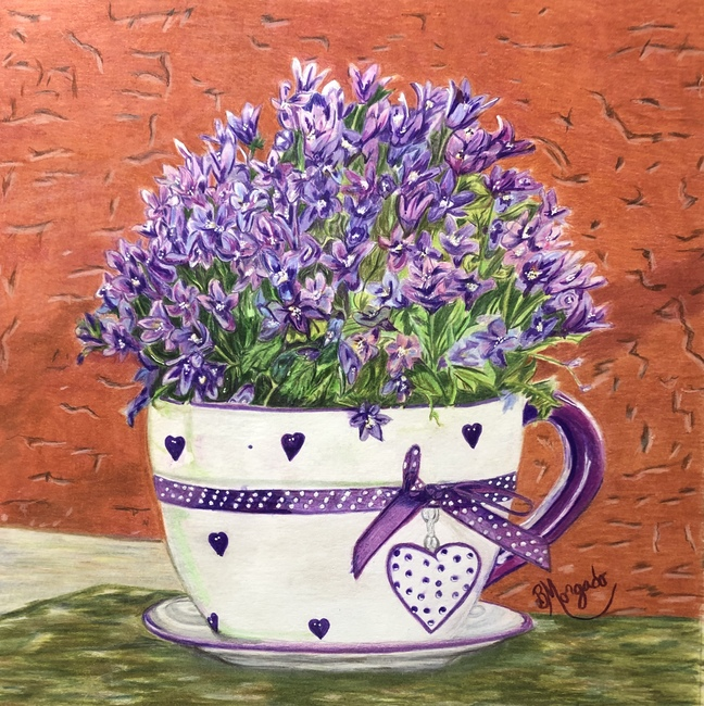 Cup Of Lilacs