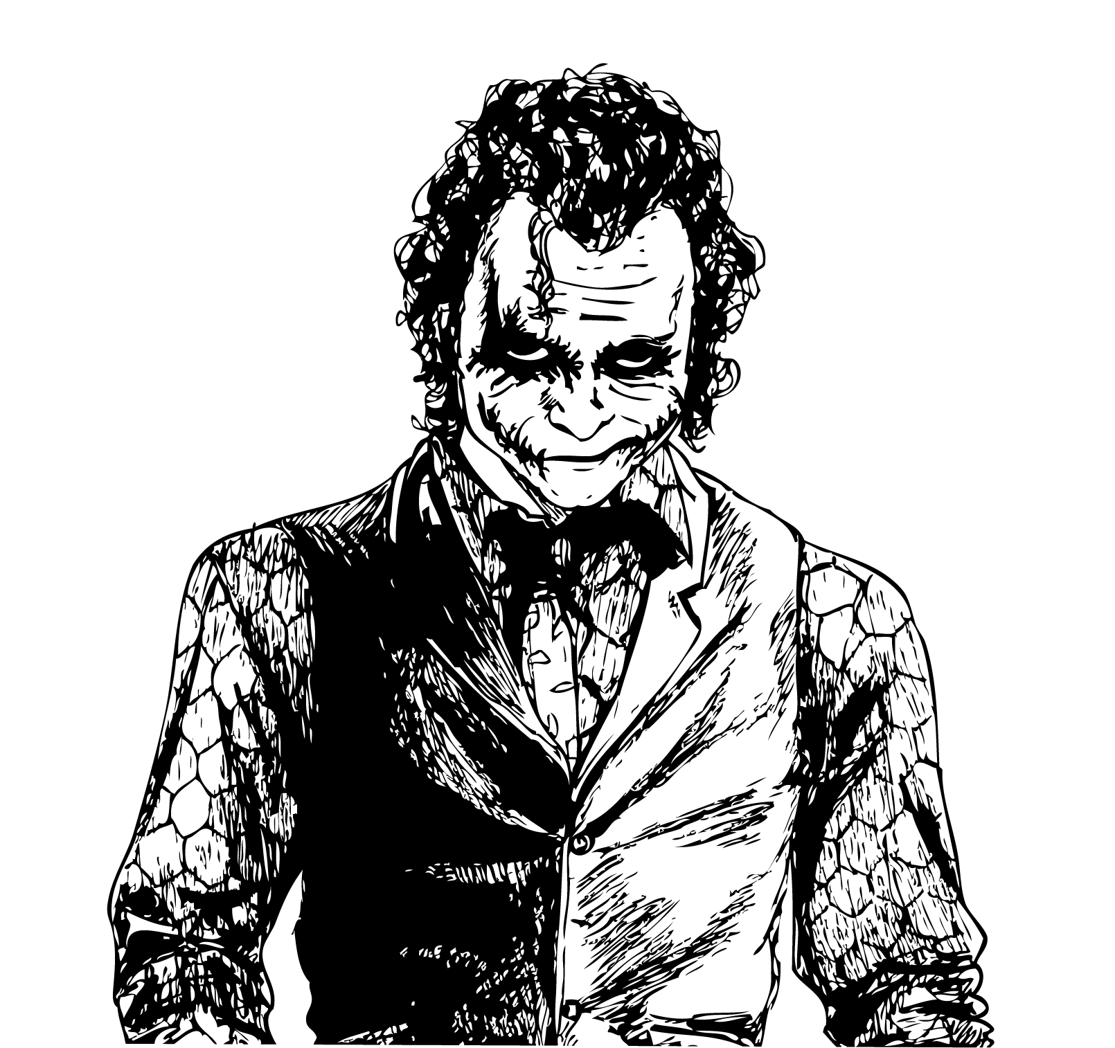 joker sketch loni blanks foundmyself