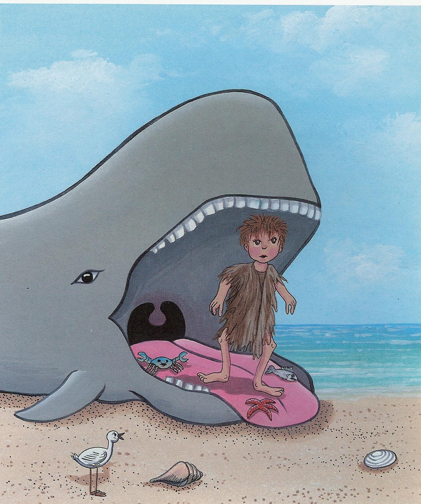 Jonah and the whale   Steve Daniels   Foundmyself