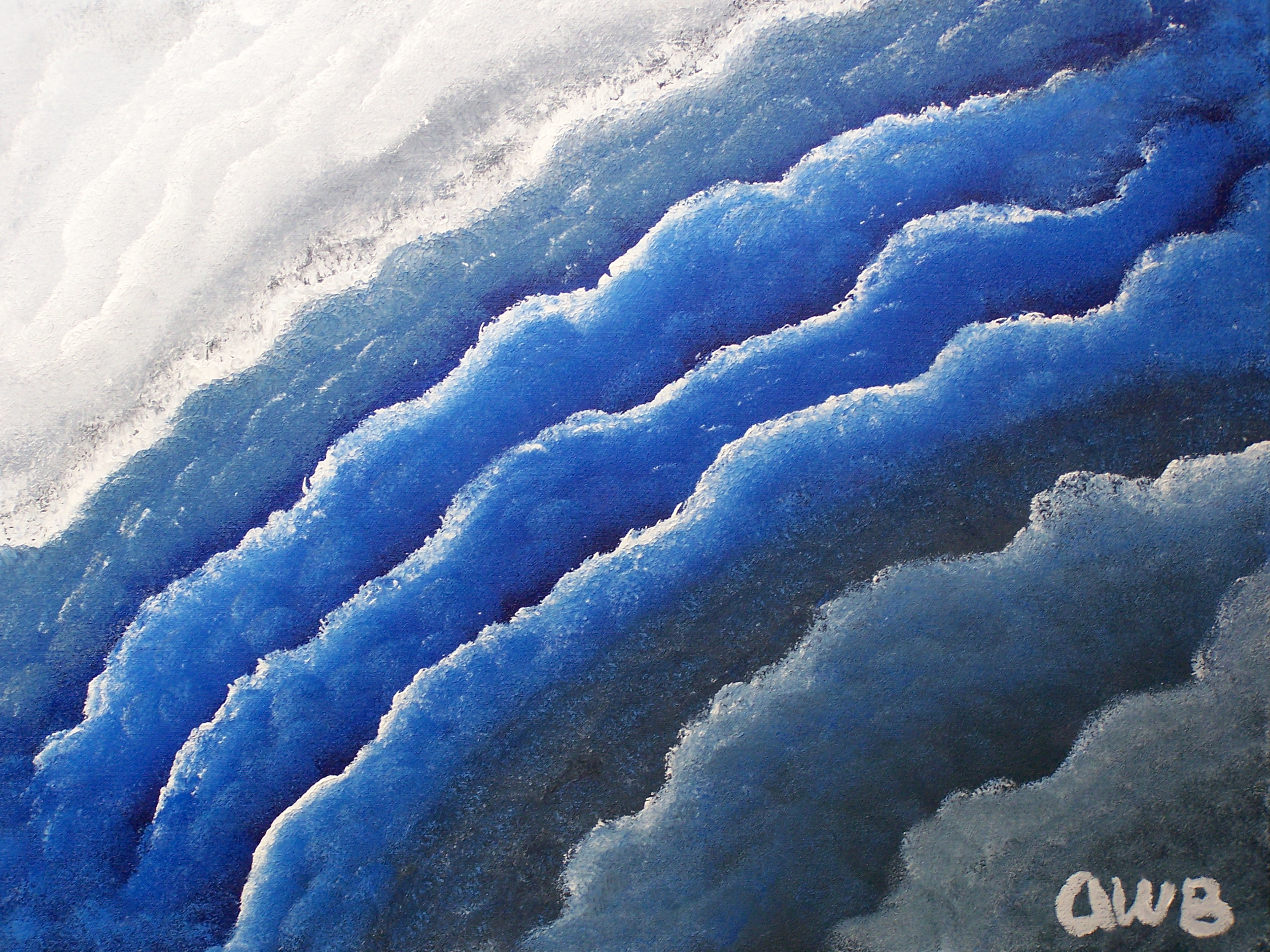 Crashing Sea Andrew Basinski Foundmyself
