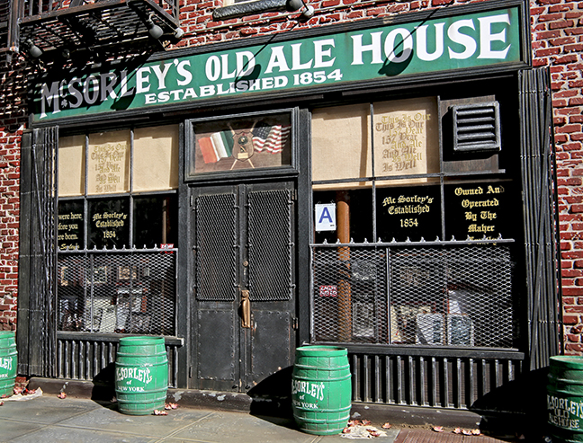 McSorley's Old Ale House in miniature