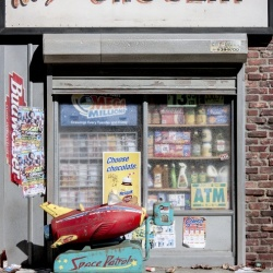 Ray's Grocery - Miniature Sculpture