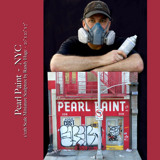 Pearl Paint and Me