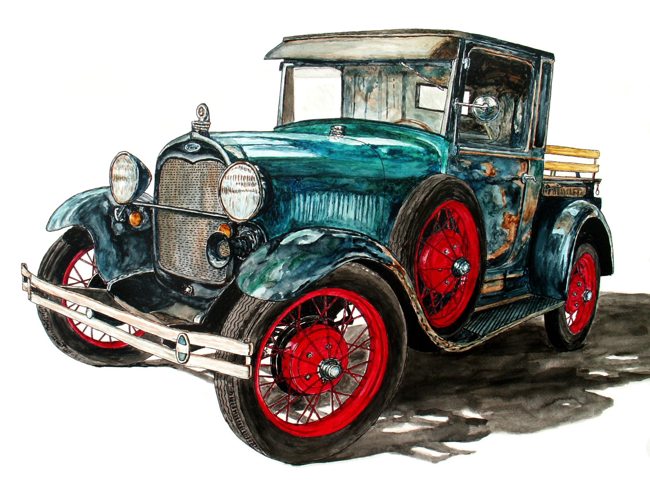 1929 Model A Truck | Ob-Art | Foundmyself