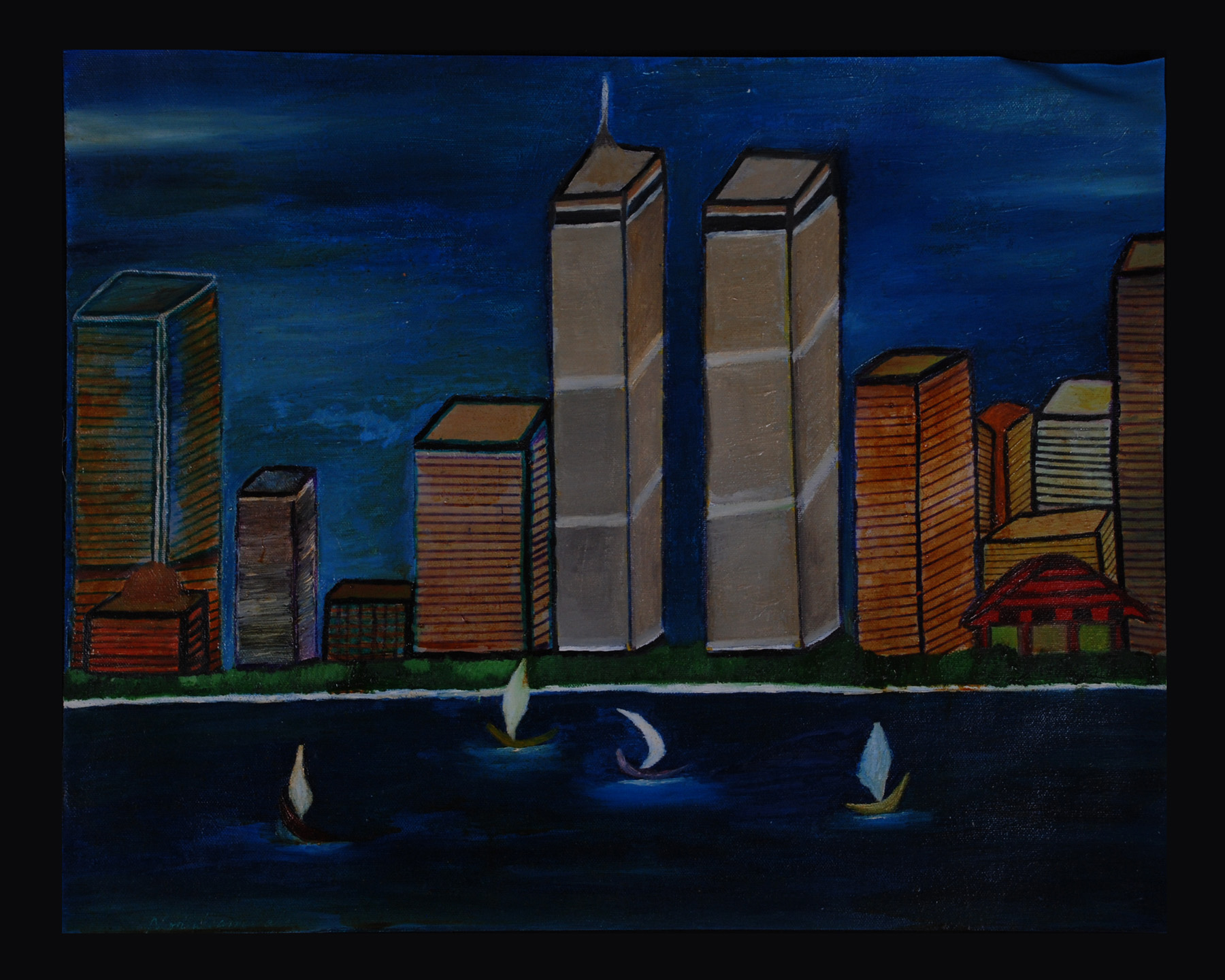 city escape new the twin towers before 911 noor ul amin