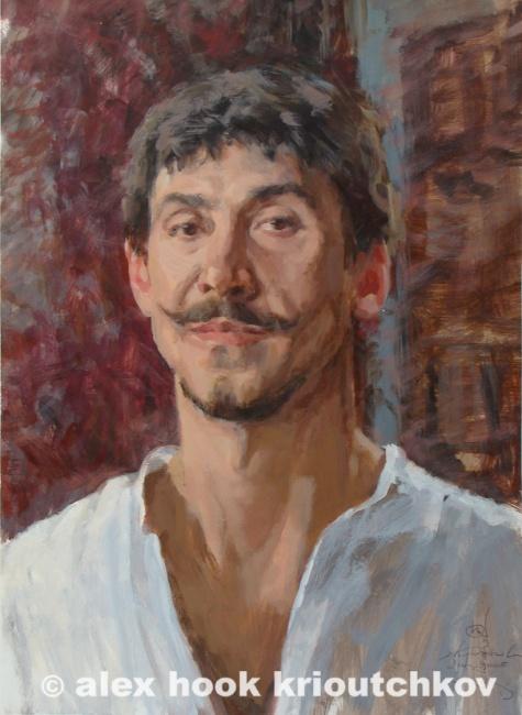Self portrait. 2005