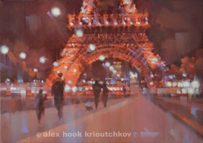 Paris at night IV