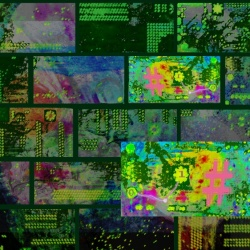 Building blocks of cyber space, photographic-art-image, phot