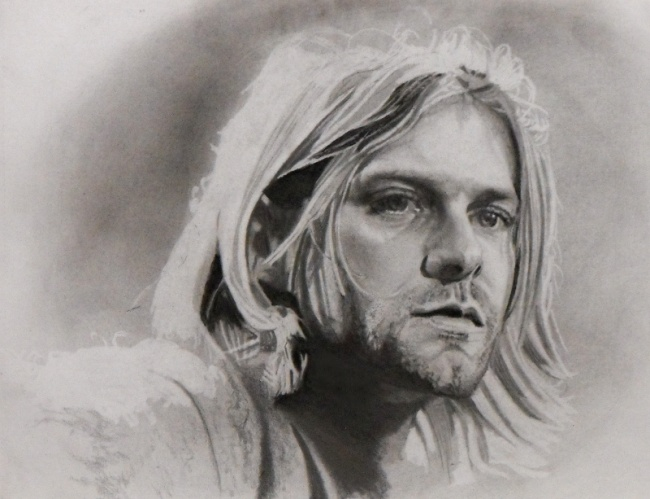 Kurt Cobain, deceased singer of Nirvana, Grunge Rock Band