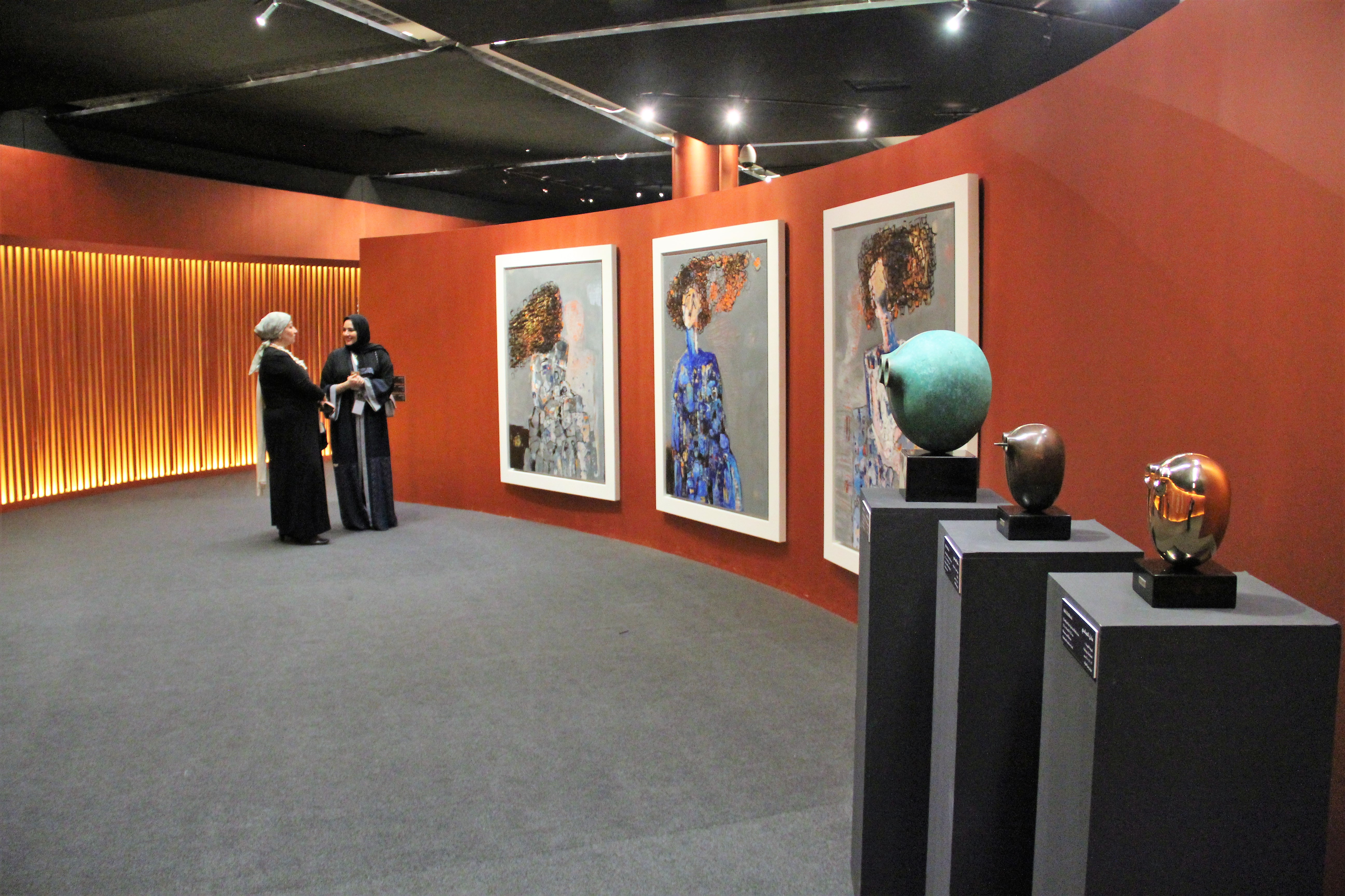 Artworks By Adel Al Abbasi Bahrain National Museum Abbasi