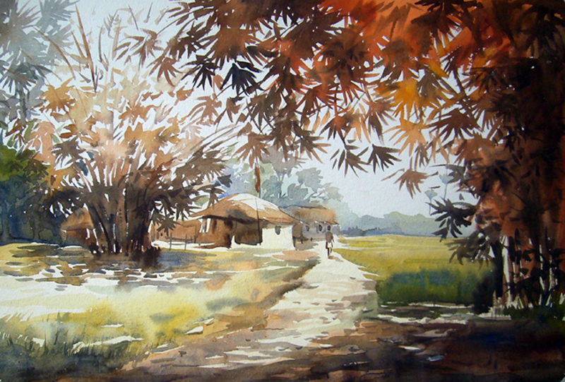 Beauty of Bengal Village | samiran_art | Foundmyself