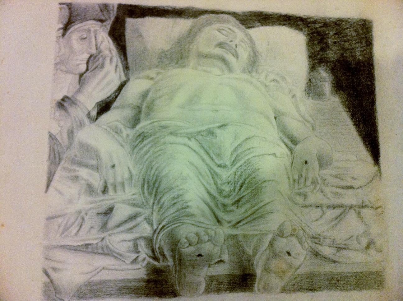 andrea mantegna the dead christ chuyito007 foundmyself