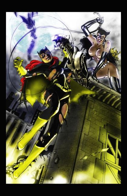 batgirl vs. catwoman | bakonaua | Foundmyself