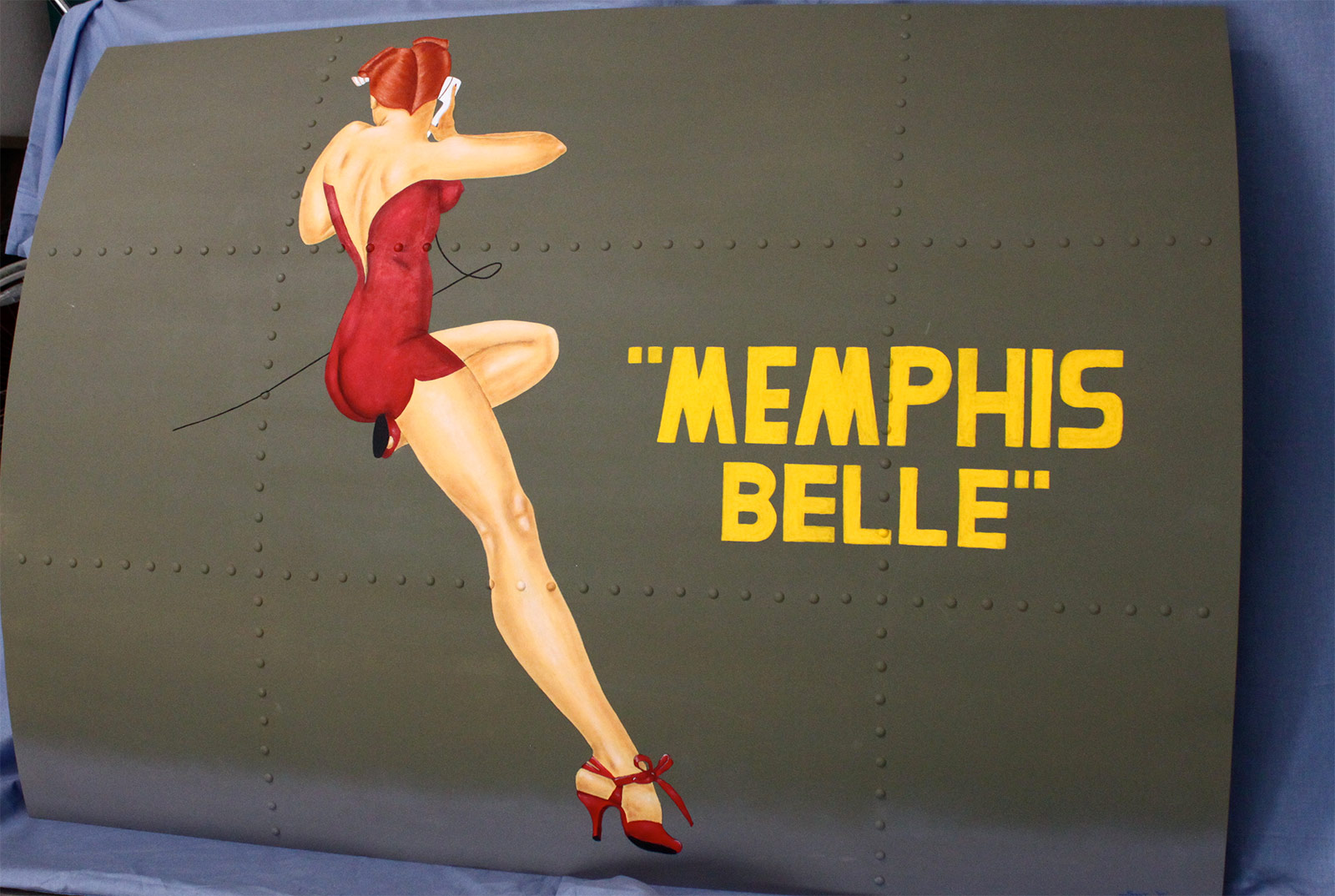 Memphis Belle   santnoseart   Foundmyself