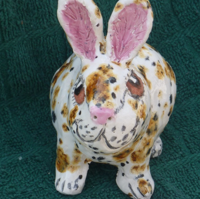 Easter Bunny Ready for Adoption Lucky rabbit 4 intact rabbit