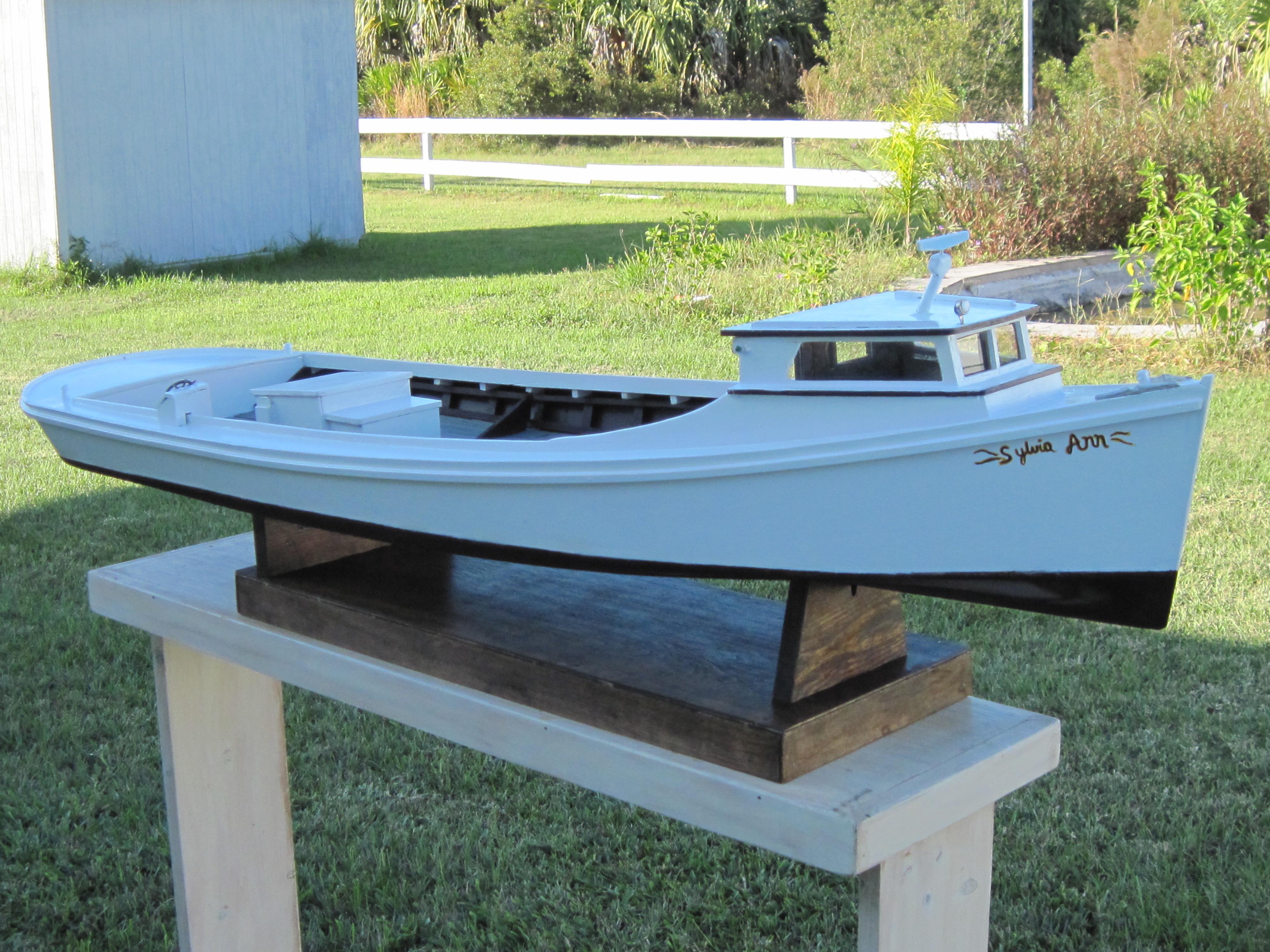 Chesapeake Bay model work boats   John Marsdon Watkins   Foundmyself