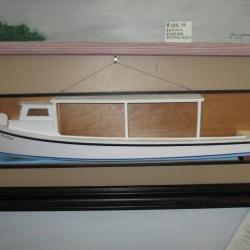 Model Boat MISS MARTHA