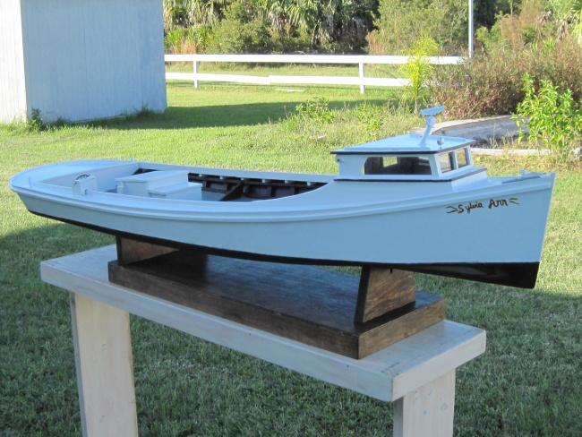Chesapeake Bay model work boats