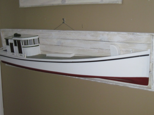 Chesapeake Bay model work boat (sold)