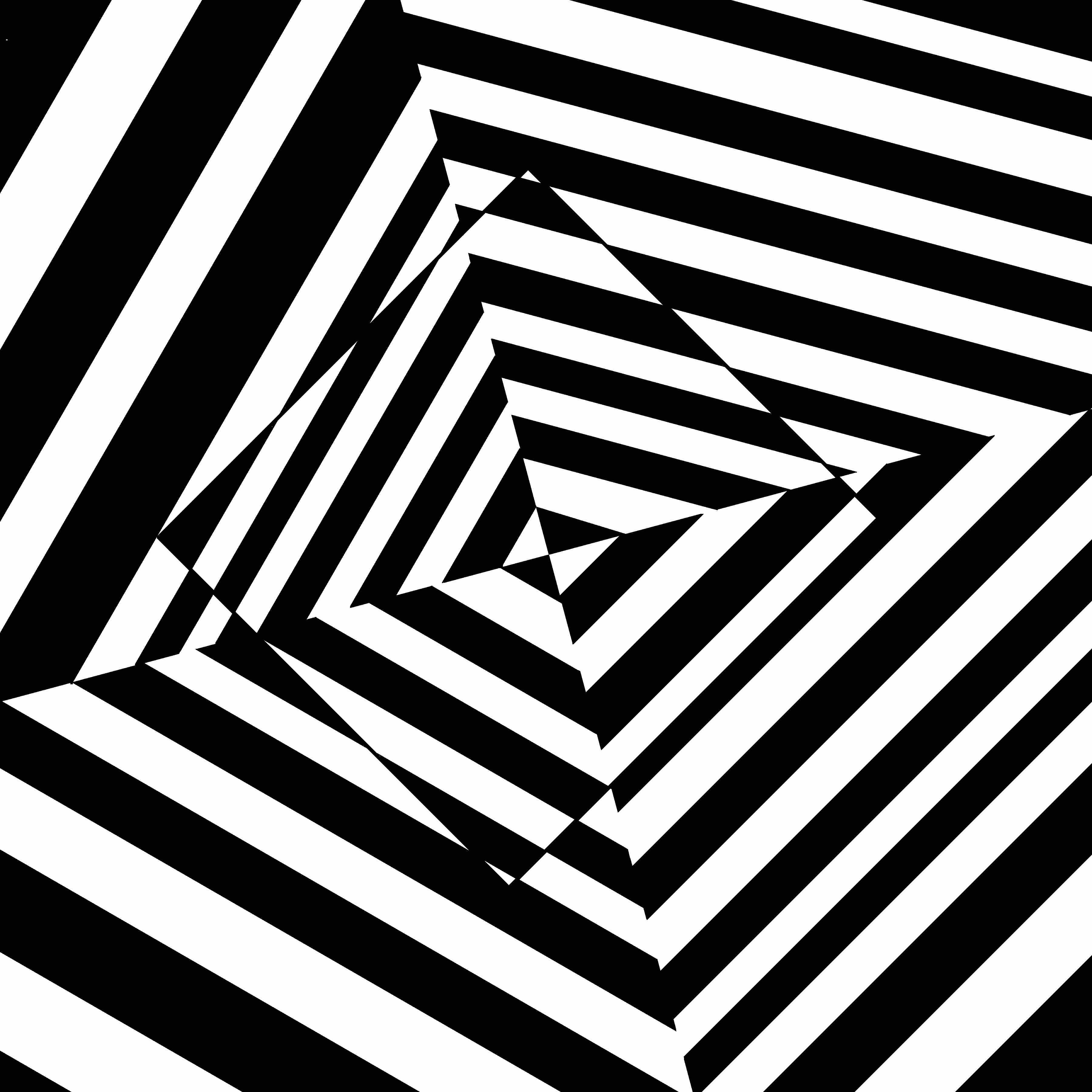 Optical Illusions Square Falling square ...