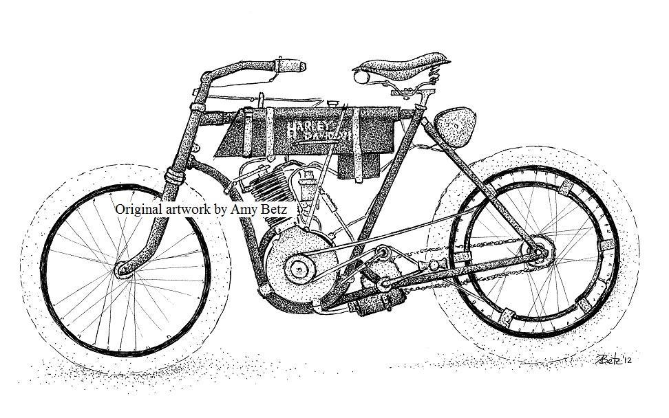 1903 Harley Davidson Amy Betz Foundmyself