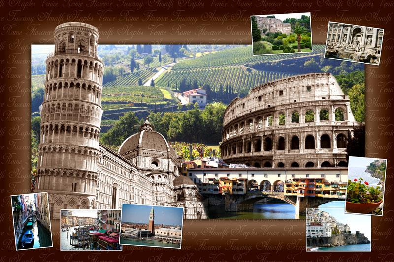 Italy Collage Oliviaclarke Foundmyself
