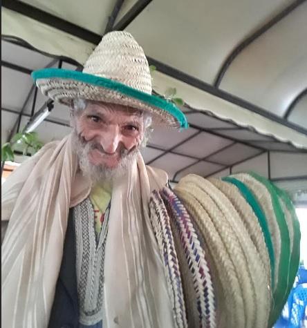 Moroccan Hat Vendor, Asilah Morocco