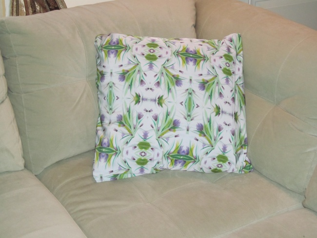 """Crocus"" Pillow"